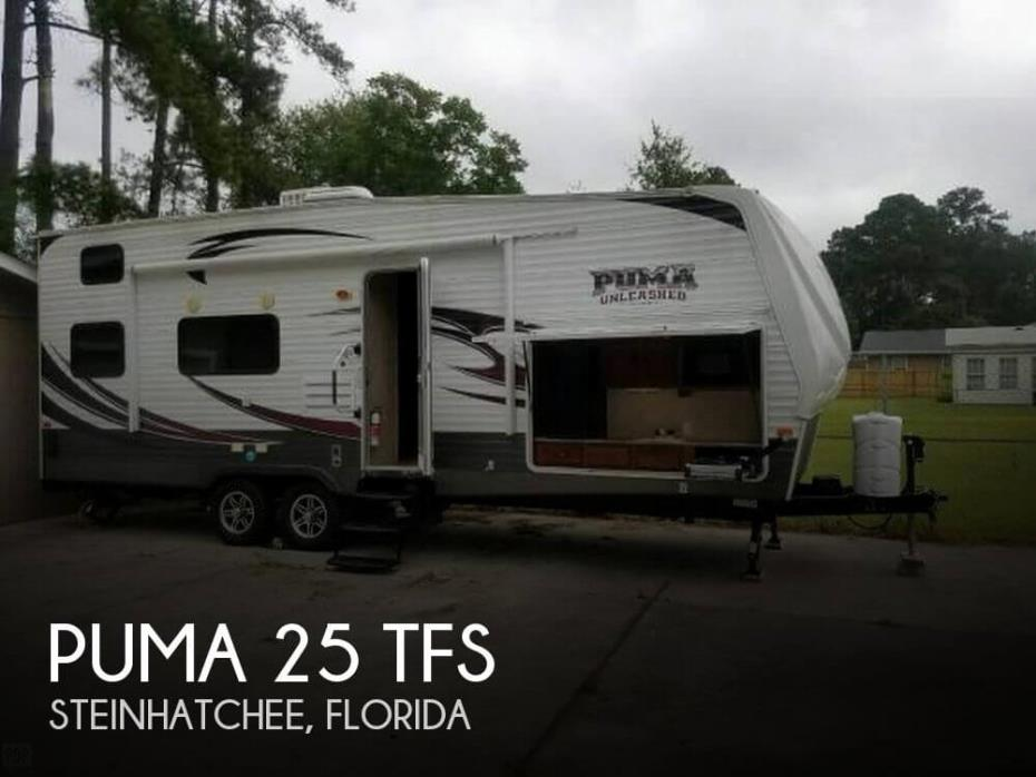 2014 Forest River Puma 25 TFS