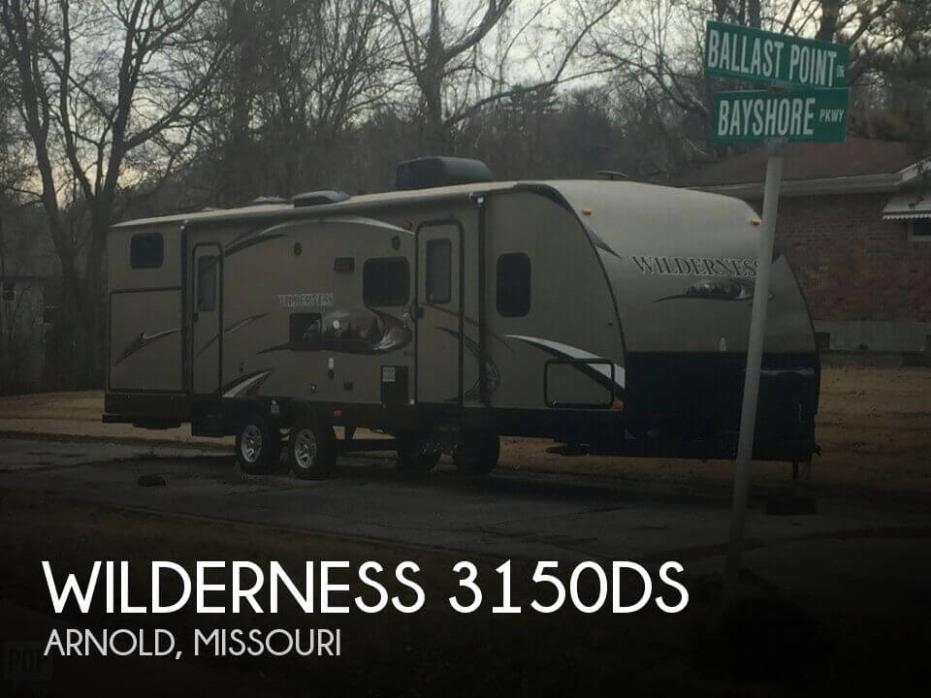 2013 Heartland Wilderness 3150DS, 0