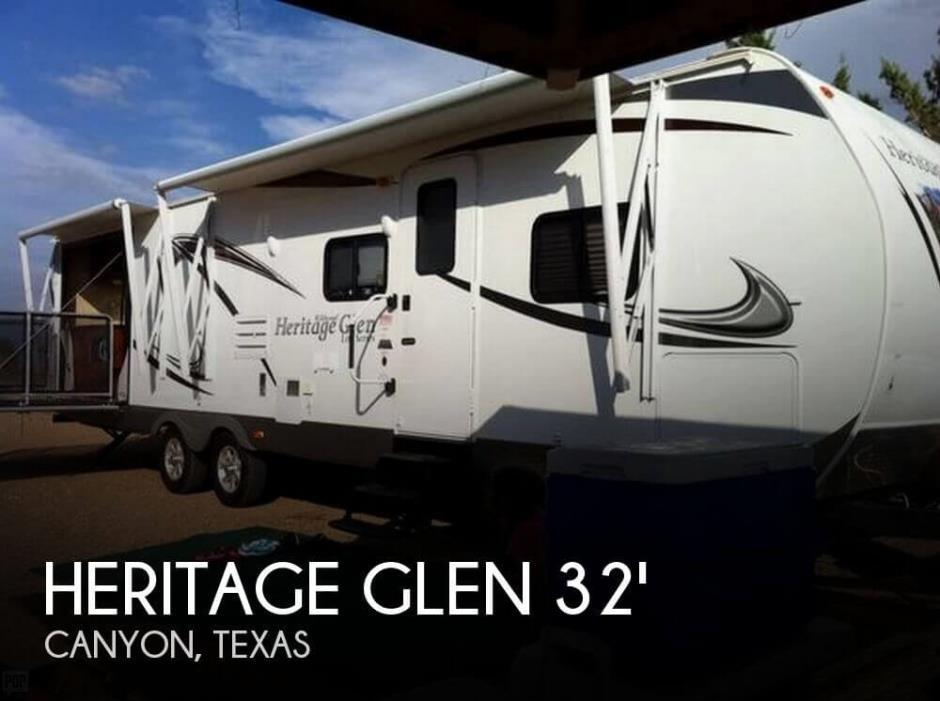 2013 Forest River Heritage Glen 302 KIT