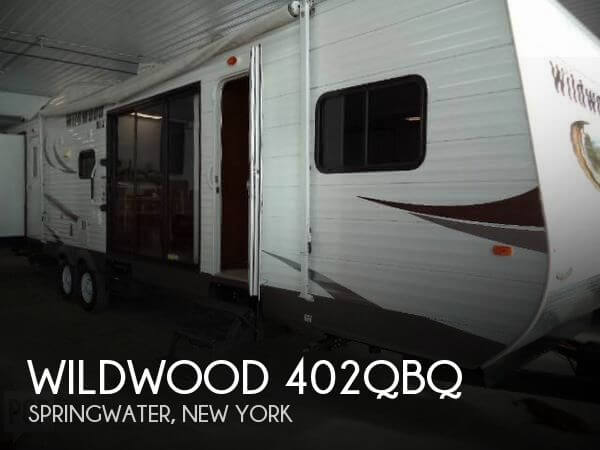 2014 Forest River Wildwood 402QBQ, 0