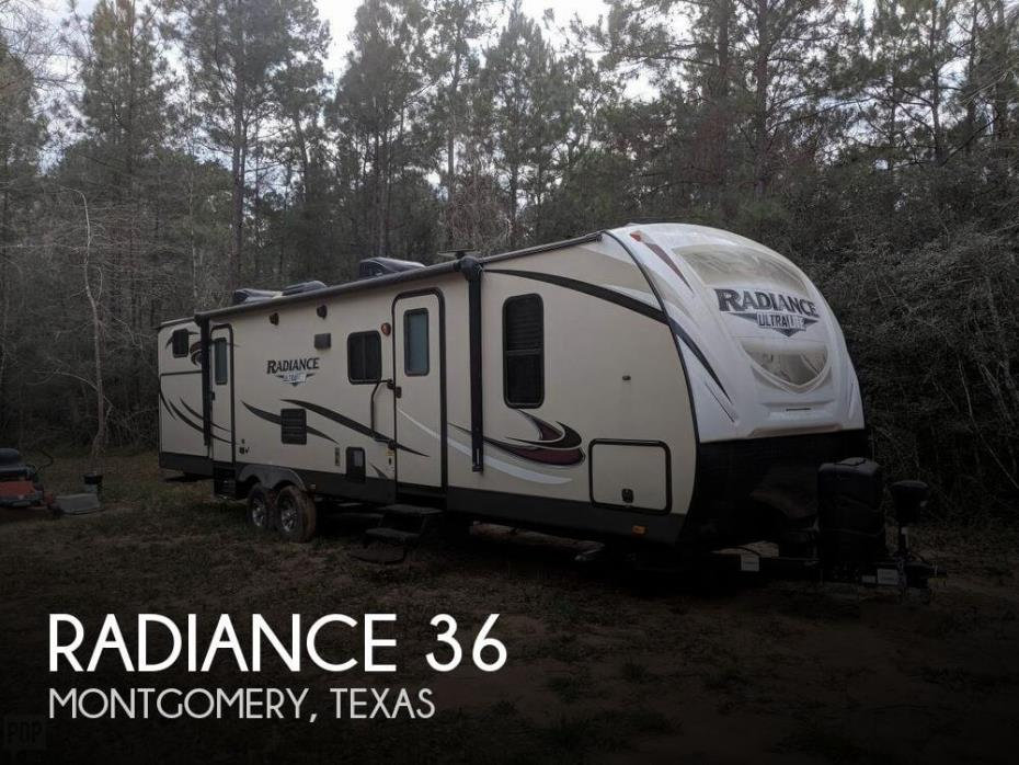 2018 Cruiser RV Radiance 36