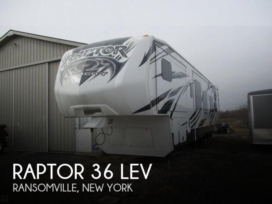 2013 Keystone Raptor 36 LEV