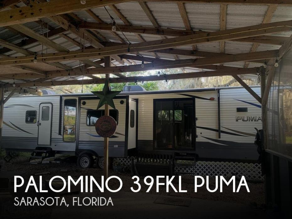 2020 Forest River Palomino 39FKL Puma