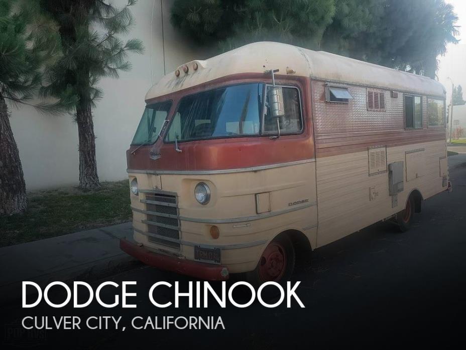 1966 Chinook Mobilodge