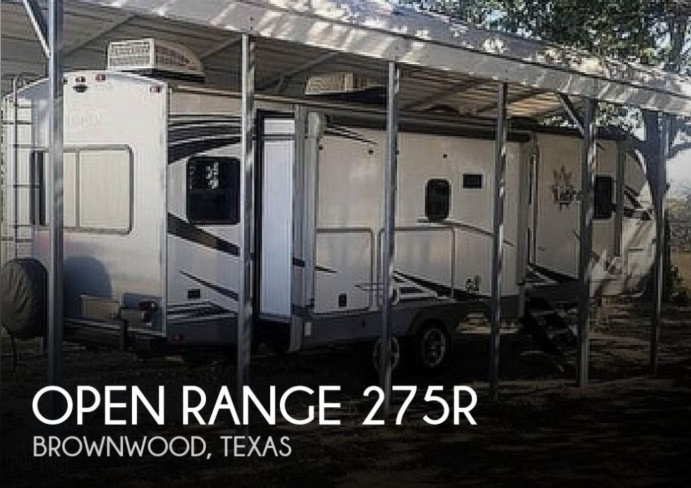 2021 Highland Ridge Open Range LT275RLS