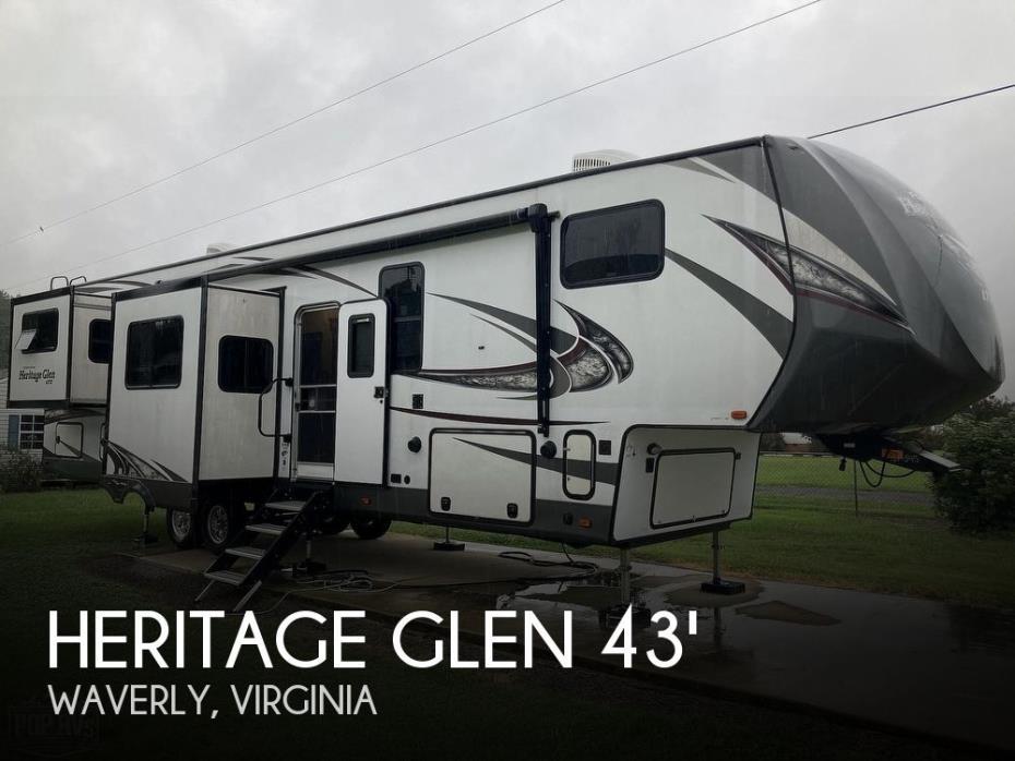 2018 Forest River Heritage Glen 372RD