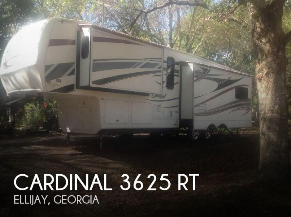 2011 Forest River Cardinal 3625 RT