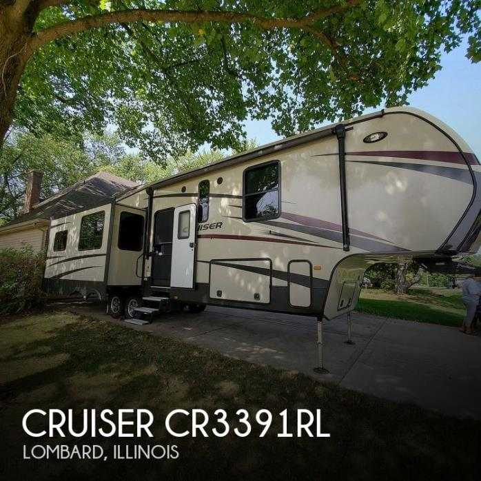 2017 CrossRoads Cruiser CR3391RL