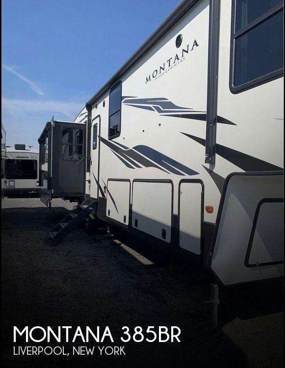 2021 Keystone Montana High Country 385BR