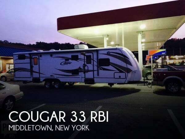2015 Keystone Cougar 33 RBI