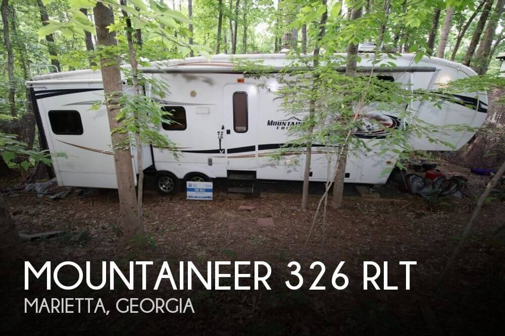 2012 Keystone Mountaineer 326 RLT