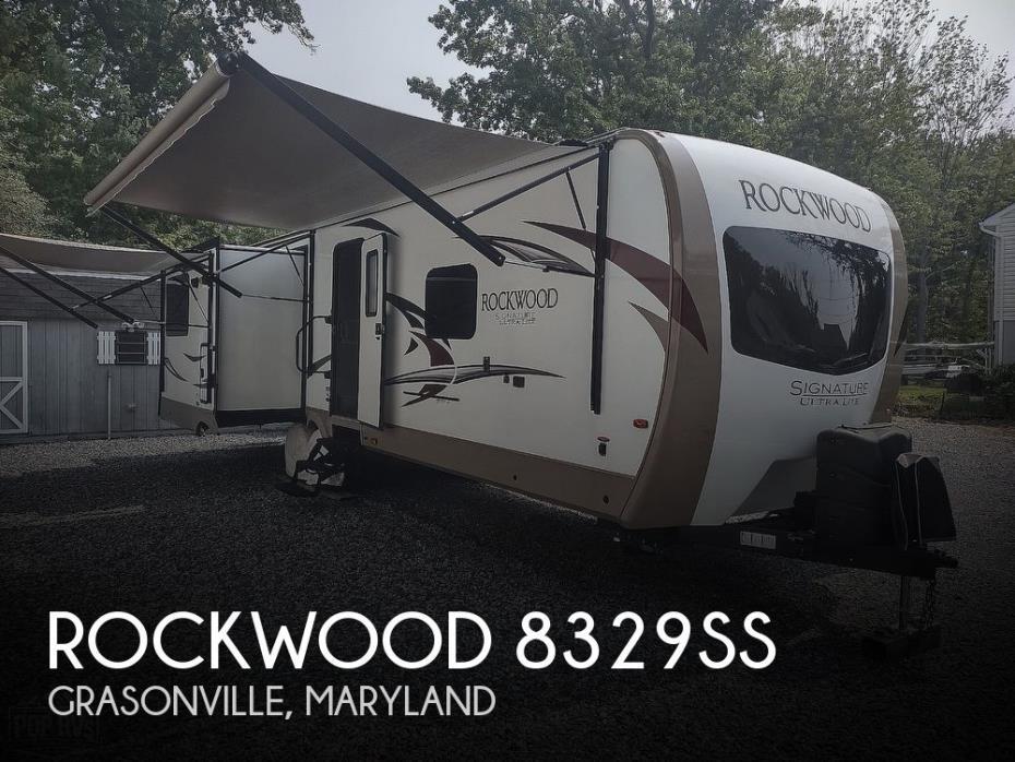 2018 Forest River Rockwood 8329SS