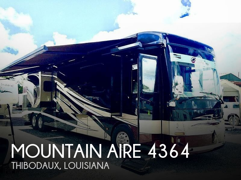 2014 Newmar Mountain Aire 4364(INCLUDES 24' CUSTOM PAINTED TRAILER WITH A/C)