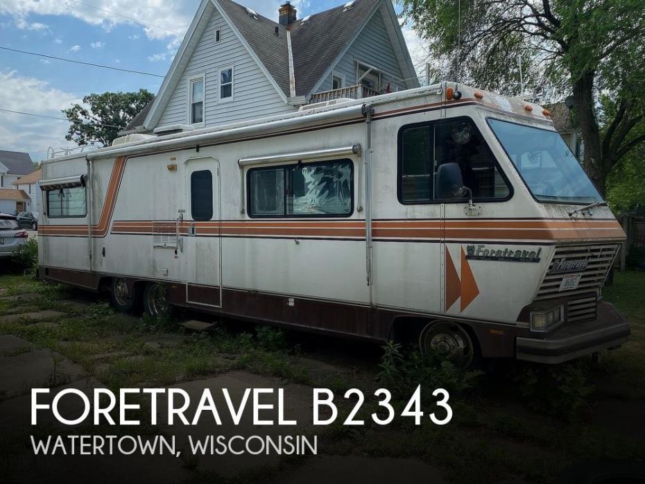 1985 Foretravel Motorcoach Foretravel 33SB