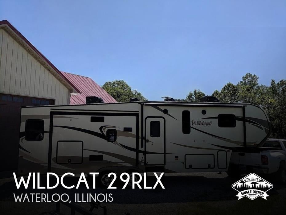 2018 Forest River Wildcat 29RLX