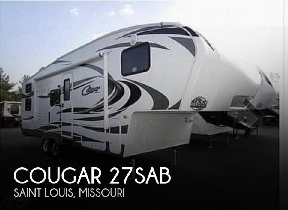 2012 Keystone Cougar 27SAB