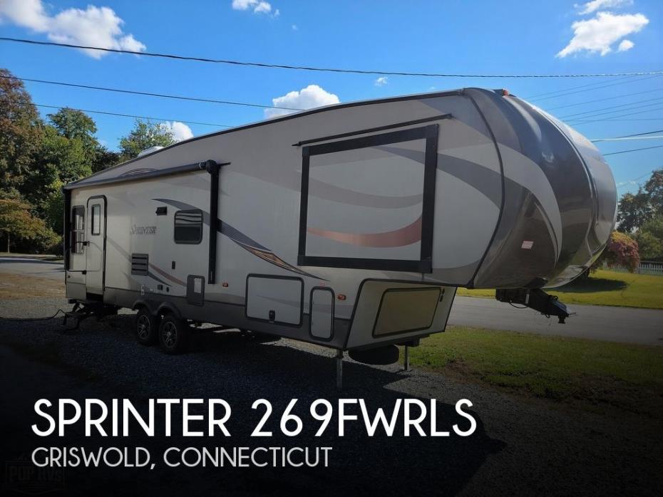 2015 Keystone Sprinter 269FWRLS