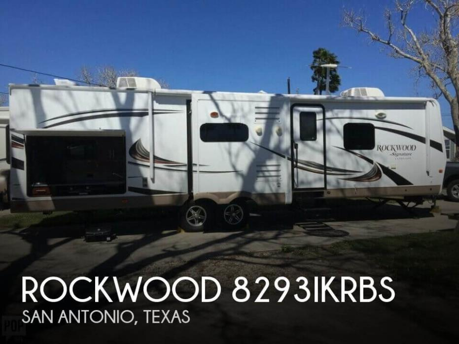 2015 Forest River Rockwood 8293IKRBS