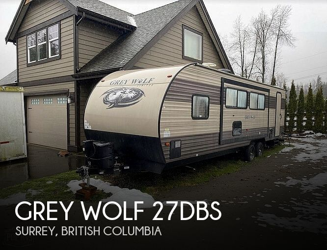 2017 Forest River Grey Wolf 27DBS