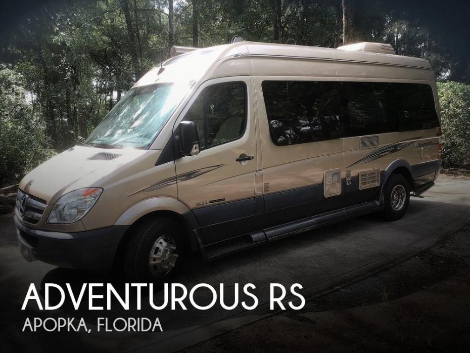 2012 Roadtrek Adventurous RS