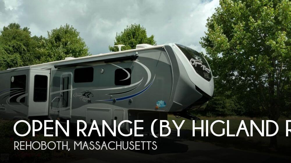 2015 Highland Ridge Open Range 3X388RKS