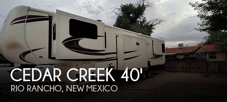 2018 Forest River Cedar Creek Silverback 37RTH