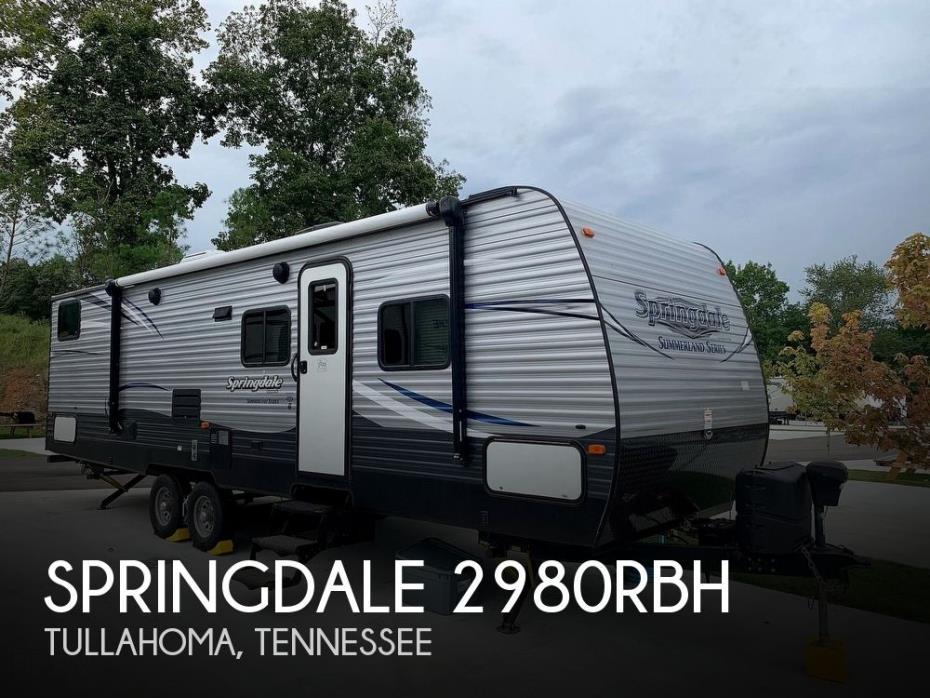 2017 Keystone Springdale 2980RBH