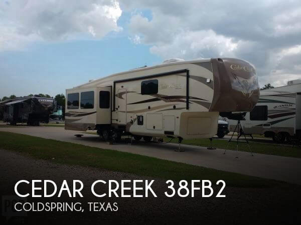 2015 Forest River Cedar Creek 38FB2