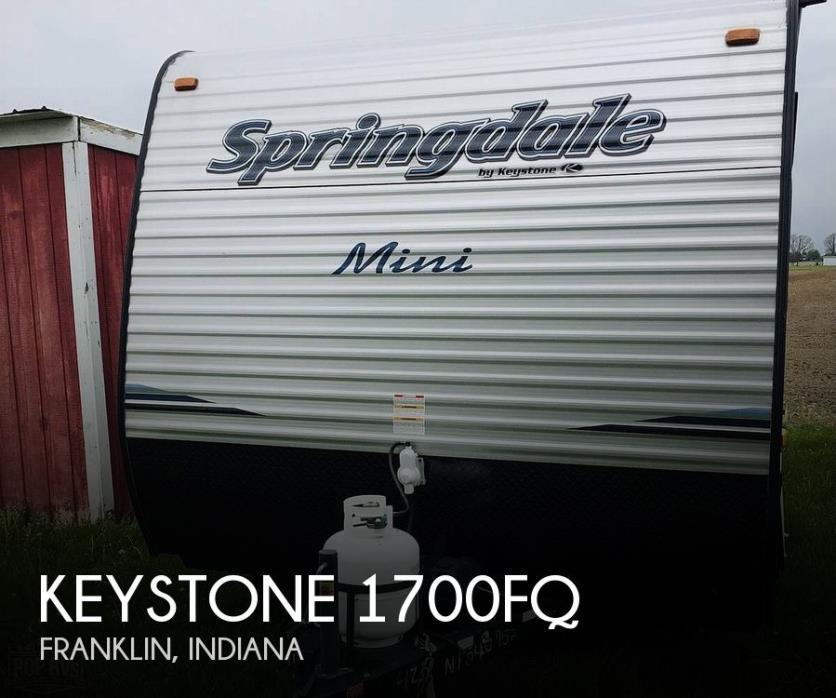 2019 Keystone Springdale 1700FQ