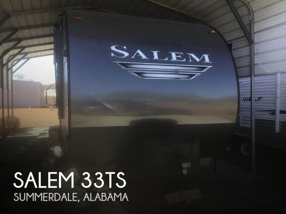 2019 Forest River Salem 33TS