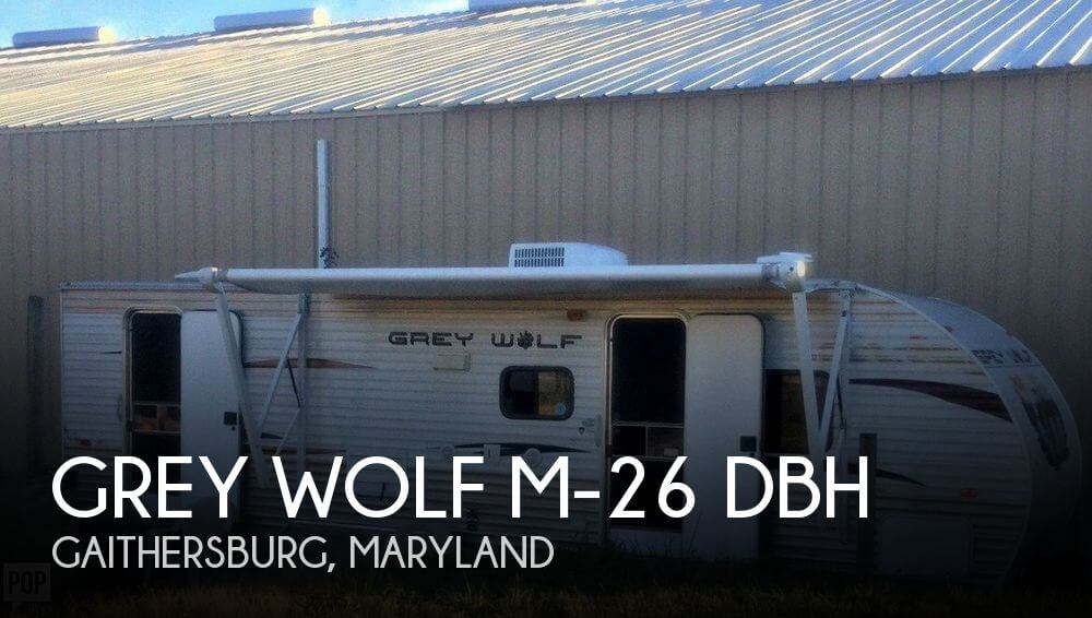 2013 Forest River Grey Wolf M-26 DBH