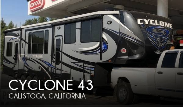 2016 Heartland Cyclone Cyclone 3800HD