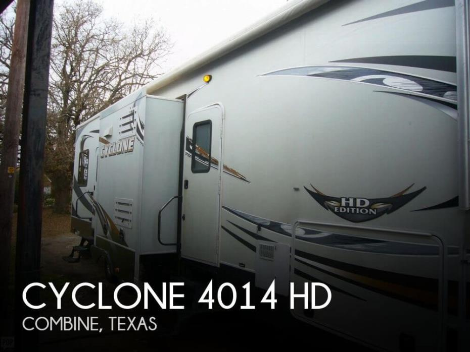 2012 Heartland Cyclone 4014 HD