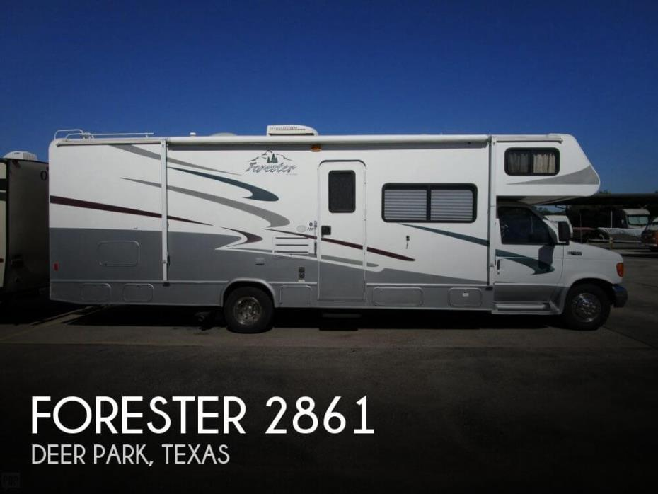 2005 Forest River Forester 2861