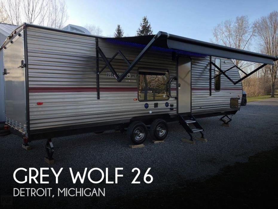 2018 Forest River Grey Wolf 26RR Limited