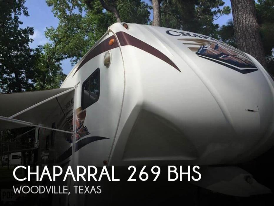 2012 Forest River Chaparral 269 BHS