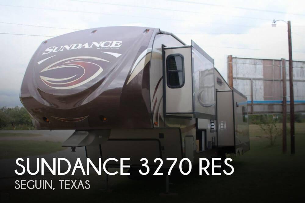 2014 Heartland Sundance 3270 RES