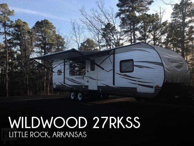 2016 Forest River Wildwood 27RKSS