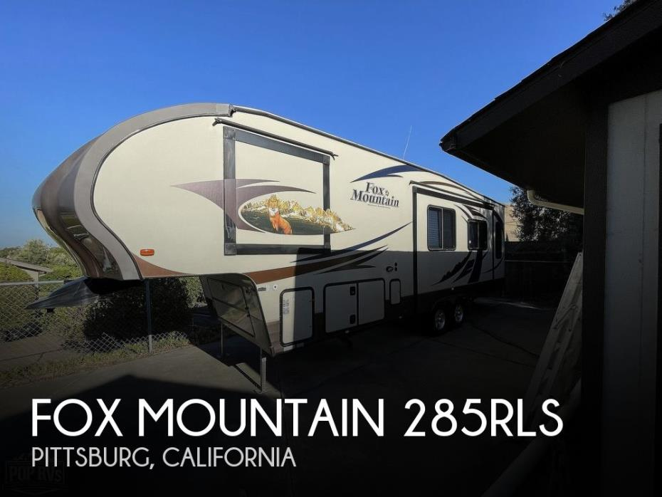 2014 Northwood Fox Mountain 285RLS