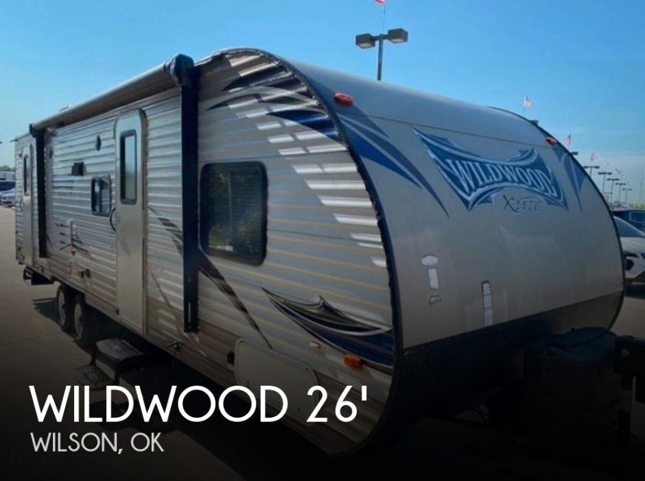 2015 Forest River Wildwood X-Lite 262BHXL