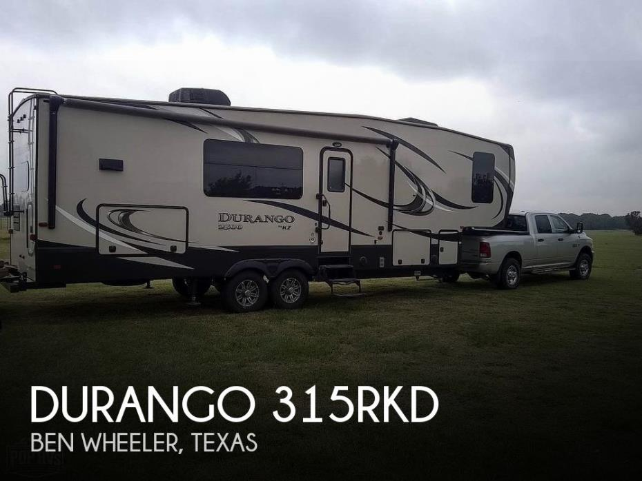 2016 KZ Durango 315RKD