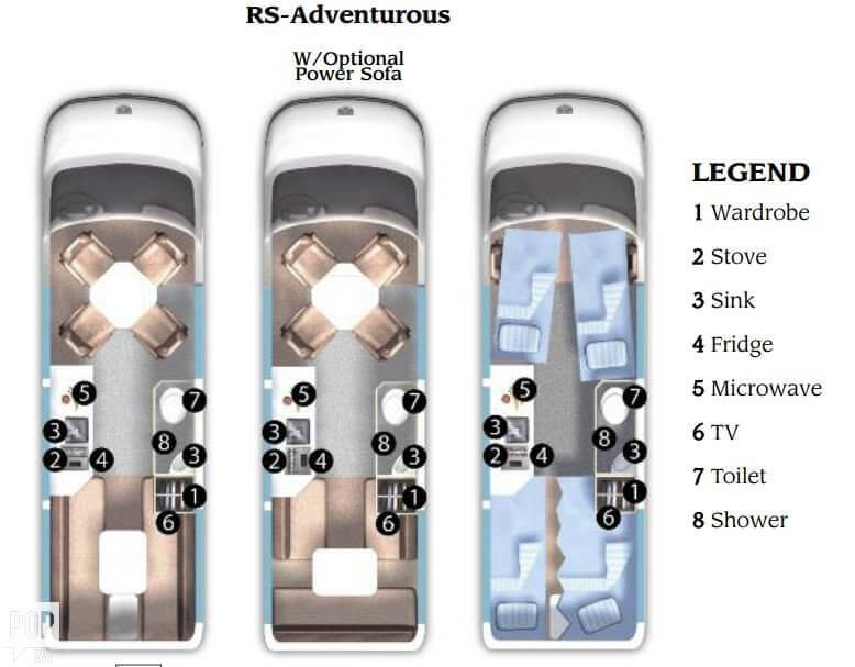 2008 Roadtrek Adventurous RS 22, 13
