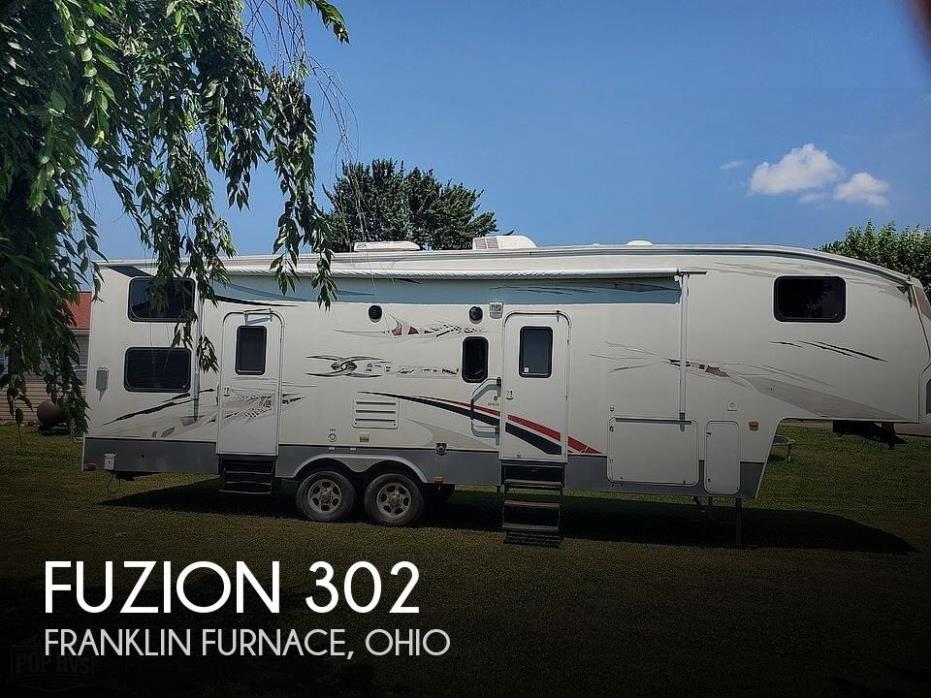 2009 Keystone Fuzion 302