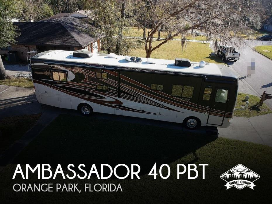 2011 Holiday Rambler Ambassador 40 PBT