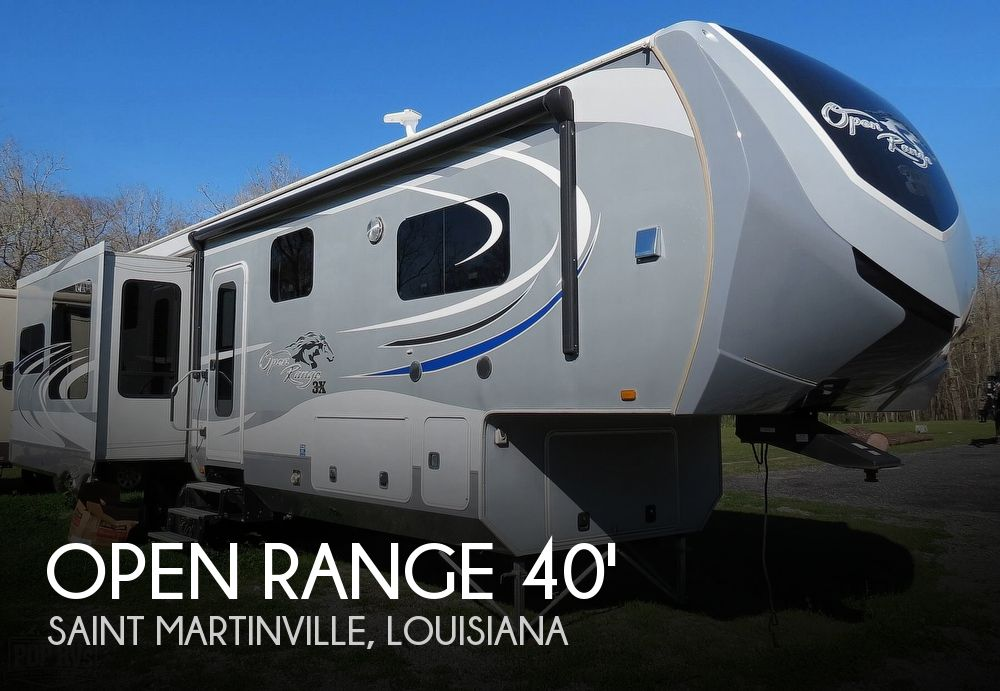 2015 Highland Ridge Open Range 3X378RLS