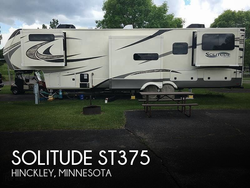 2018 Grand Design Solitude 375RES-R