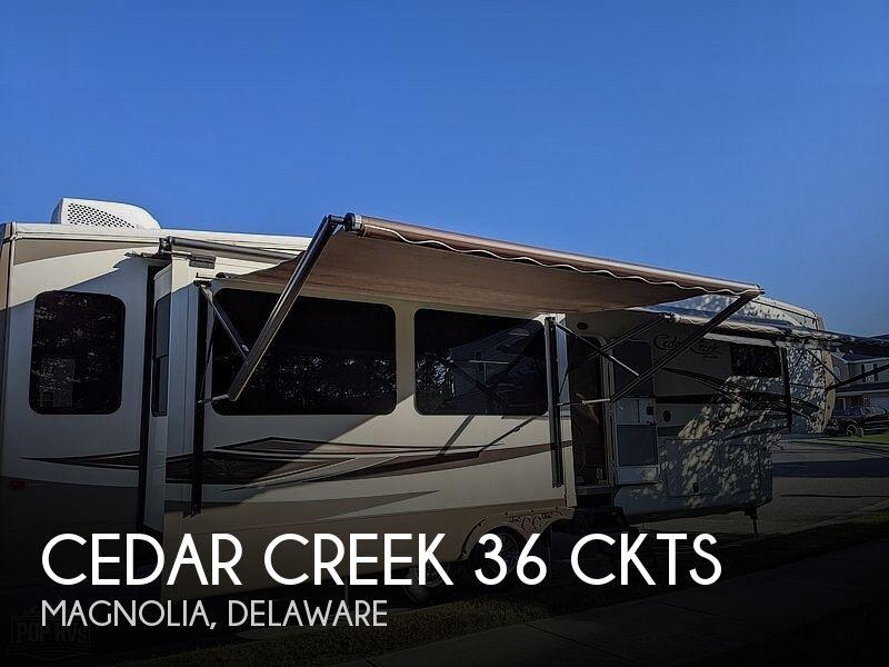 2016 Forest River Cedar Creek Hathaway Edition 36CKTS