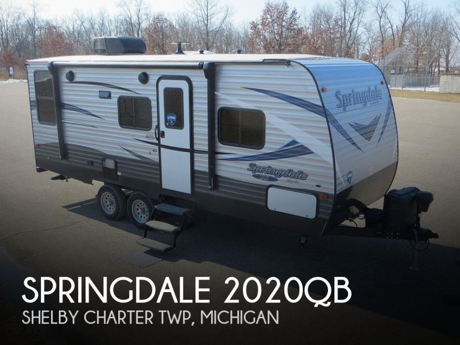 2019 Keystone Springdale 2020QB