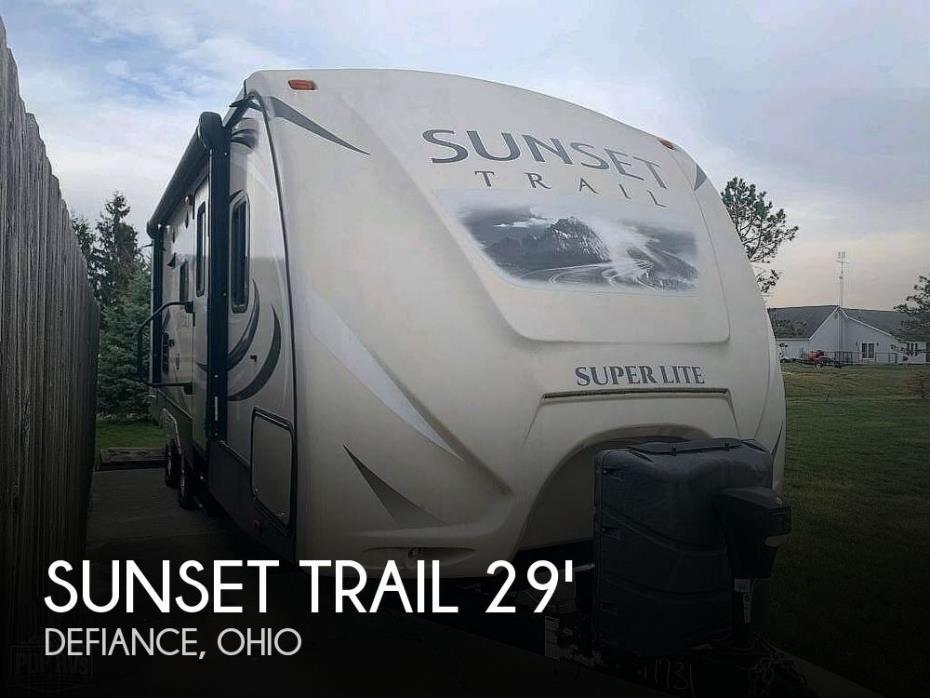 2016 CrossRoads Sunset Trail Super Lite ST250RB