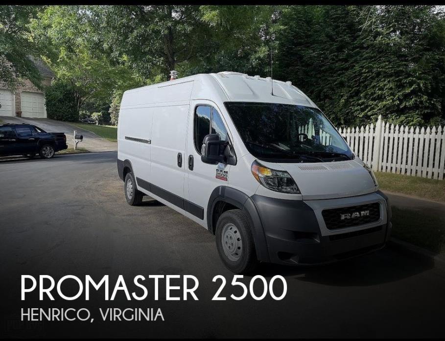2019 Ram Promaster 2500 High Roof 159
